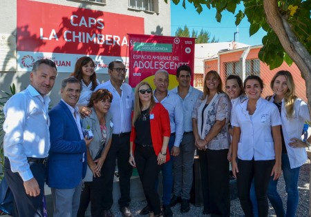 Trabajadores del centro sanitario de La Chimbera, 25 de Mayo