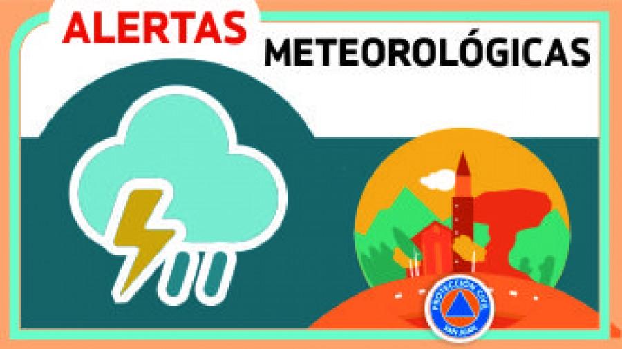 Alerta N°45 - Vientos moderados y chaparrones
