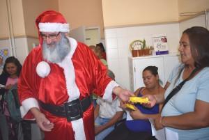 Papá Noel premió al diabético controlado