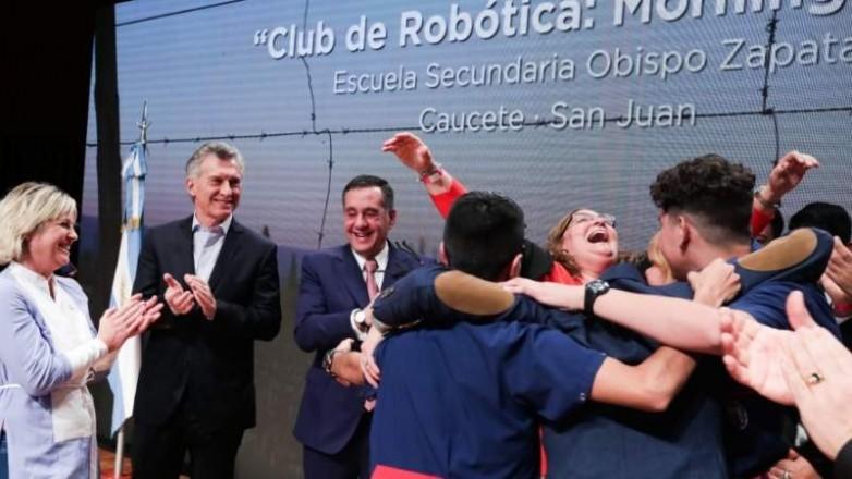 La Obispo Zapata ganó el premio Maestros Argentinos 2019