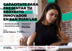 San Juan Lab realizará una capacitación gratuita en la Municipalidad de la Capital