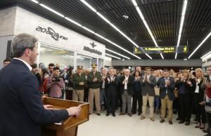 Usuarios sanjuaninos y turistas ya disfrutan de las nuevas obras en la Terminal de Ómnibus