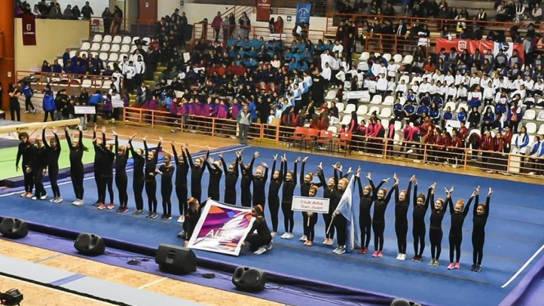 Las gimnastas sanjuaninas coparon La Serena