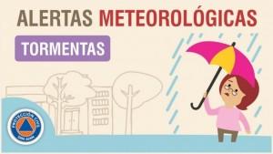 Alerta meteorológica N° 51/19 - Tormentas aisladas
