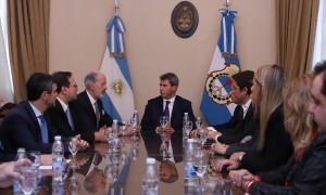 El presidente de la DAIA se reunió con Sergio Uñac