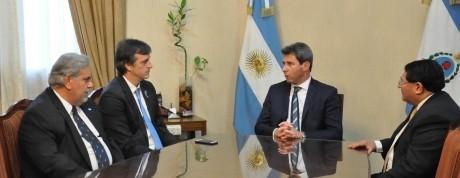 El ministro Bullrich visita San Juan