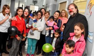 Los niños del hospital sonrieron junto al Teatro del Bicentenario