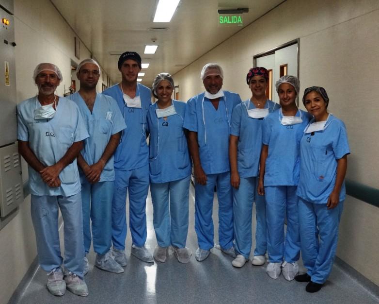 Equipo de Trasplantes de Córnea