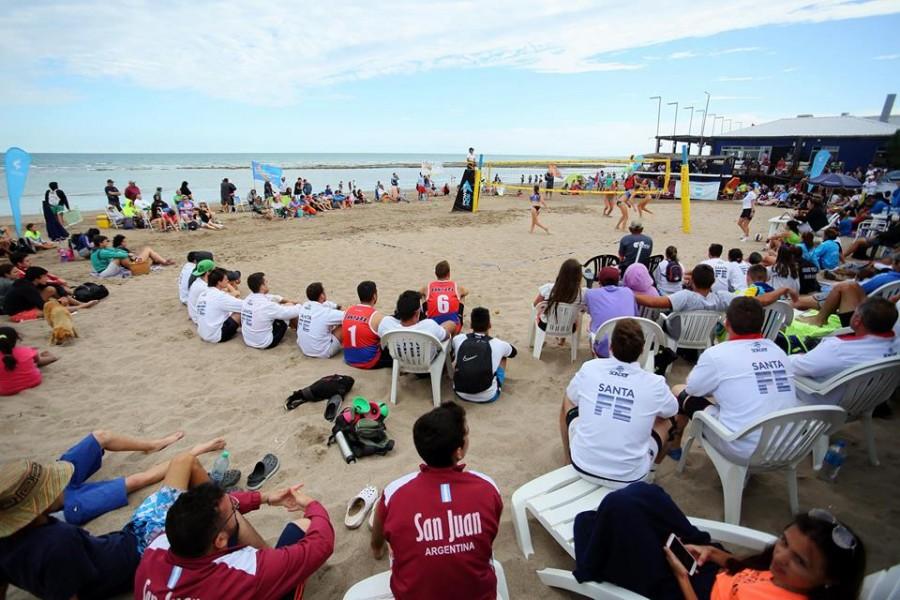 Todo listo para los Juegos Argentinos de Playa