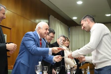 Entregaron los premios Domingo Faustino Sarmiento a las mejores tesis de grado y posgrado