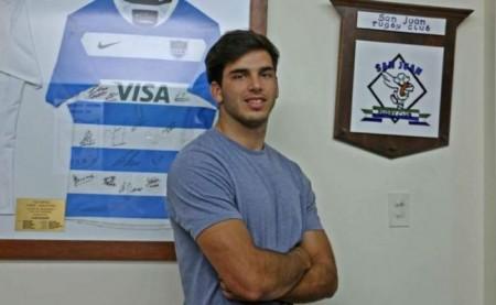 Rugby: Juan Pablo Castro viajará a Buenos Aires
