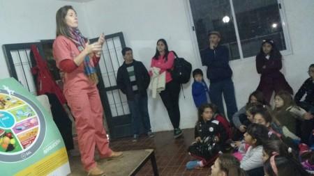 Continúa la recorrida de nutricionistas en los clubes sanjuaninos