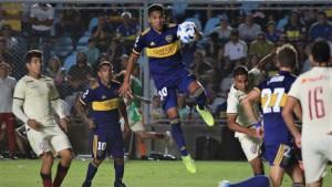 Boca Juniors venció a Universitario en la noche sanjuanina