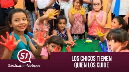 Los chicos tienen quien los cuide | #SanJuanEnNoticias