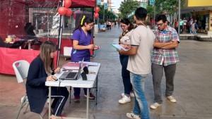 Buscaron nuevos dadores de sangre a través de una maratón