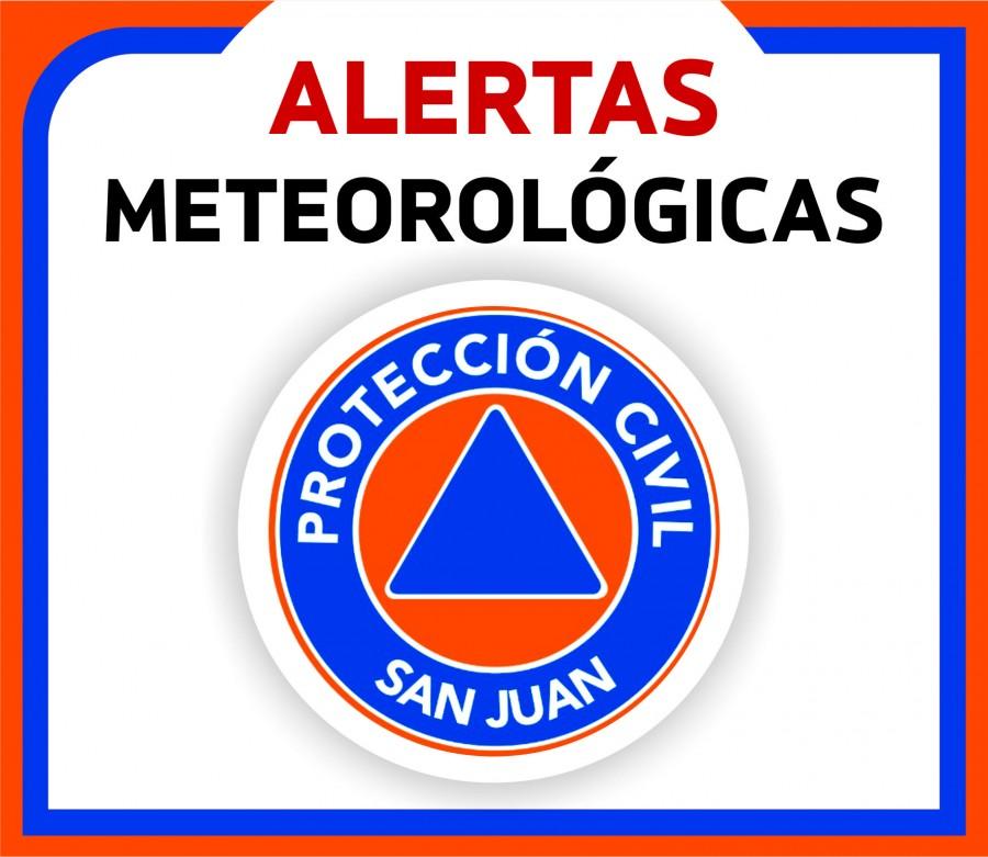 Alerta meteorológico n°37 por viento Norte