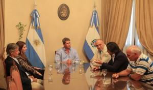 Directivos de Ecogas se reunieron con el gobernador