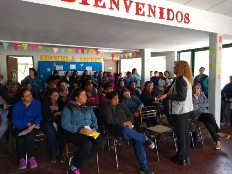 Escuela Yapeyú: brindaron pautas preventivas  por casos de varicela y escarlatina