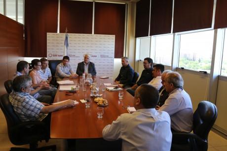 El Ministro Díaz Cano recibió a la nueva Comisión Directiva de la Cámara Olivícola