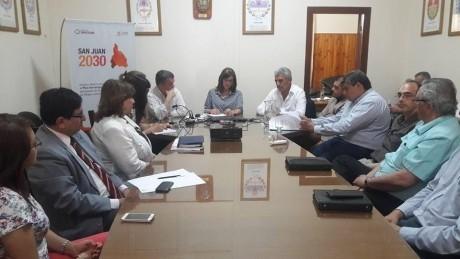 El ministro de Desarrollo Humano participó en el CoPESJ