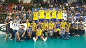 UPCN se consagró subcampeón sudamericano de vóley
