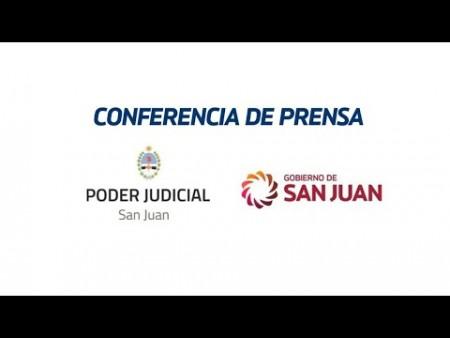 Conferencia de prensa sobre medidas de prevención de violencia de género