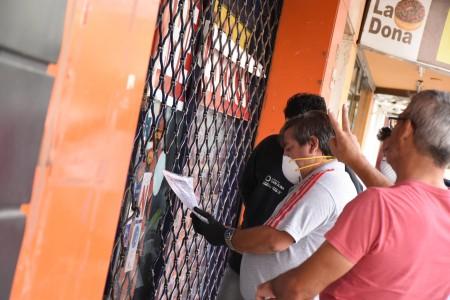 La Subsecretaría de Trabajo controla el funcionamiento de comercios durante el aislamiento preventivo