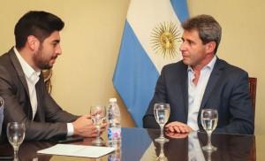 Uñac recibió al diputado nacional Facundo Moyano