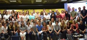 Desarrollo Humano y FAUD entregaron marcas a talleres comunitarios