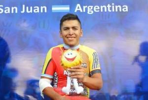 Naranjo se quedó con el Prólogo del Giro del Sol