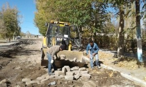 Trabajos de conservación y mantenimiento en la RN 149-Iglesia