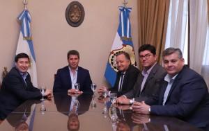 El gobernador recibió al diputado Daniel Arroyo, especialista en políticas sociales