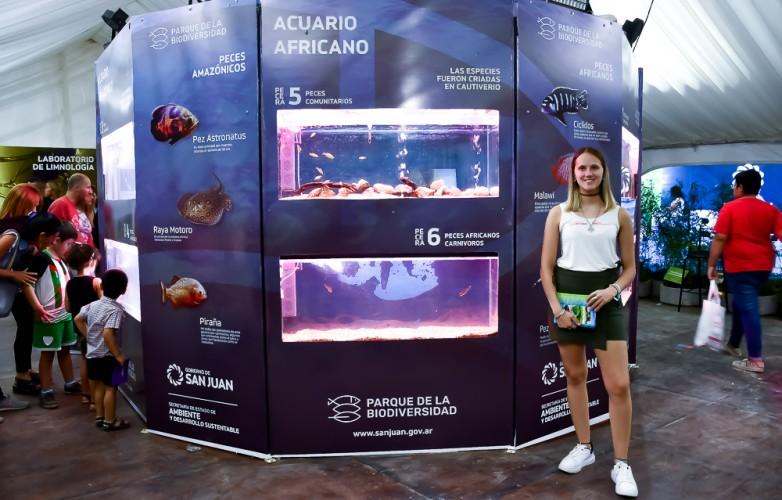 El acuario, el gran atractivo de la FNS