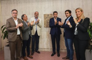 Uñac inauguró la renovada Terminal de Ómnibus