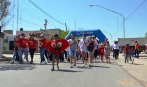 Segunda caminata saludable por el Día del Corazón
