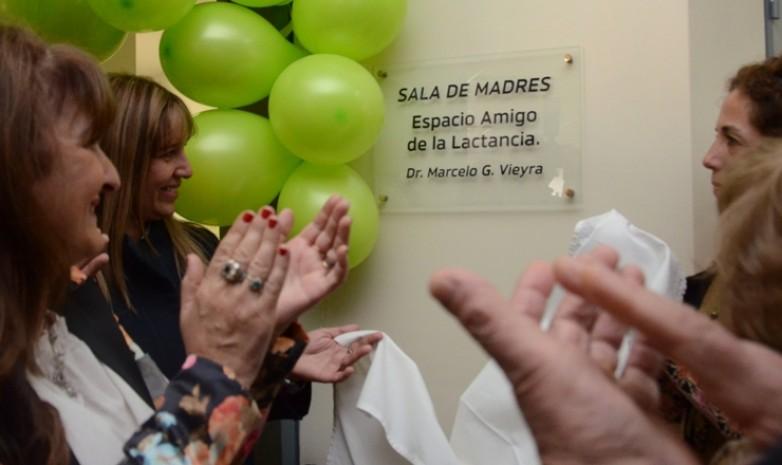 El hospital de Pocito inauguró su espacio amigo de la lactancia materna