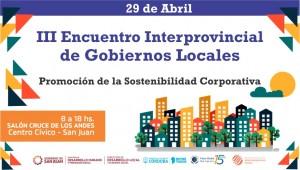 San Juan será sede del III Encuentro Interprovincial de Gobiernos Locales