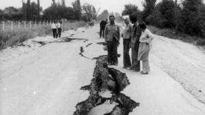 Un terremoto sacude nuevamente a San Juan en 1977