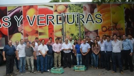 Producción sanjuanina a Buenos Aires