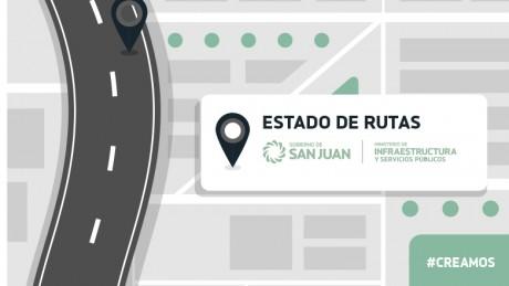 Estado de rutas provinciales 01/06 - 8.50hs.