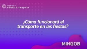 MinGob dio detalles sobre el funcionamiento de colectivos para las fiestas