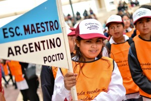 Miles de chicos renovaron su compromiso con la seguridad vial