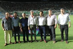 El gobernador Uñac dijo presente en la Copa Clásico San Juan