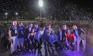 En el arranque de los Juegos Binacionales, San Juan estrenó su primera pista sintética de atletismo