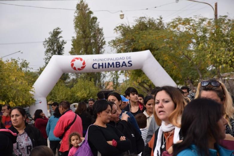 Con gran concurrencia de vecinos, inició el Abordaje Integral de Chimbas