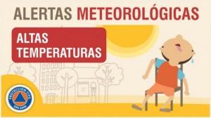 Alerta meteorológica Nº 6/19 - Altas temperaturas (rectificación)