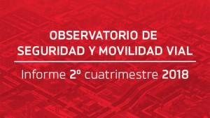 El Observatorio de Seguridad Vial dio a conocer el informe del 2° cuatrimestre del año