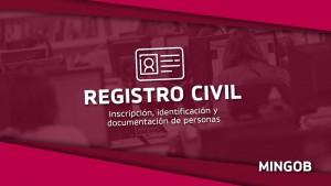 Cómo hacer la inscripción, identificación y documentación de personas