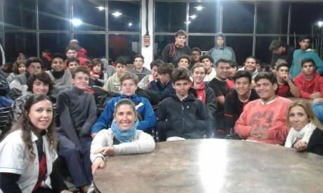 Las nutricionistas de la Secretaría de Deportes concluyeron sus visitas a Rivadavia