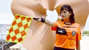 Giselle Ayala Petracchini: las árbitras de fútbol están en el camino correcto